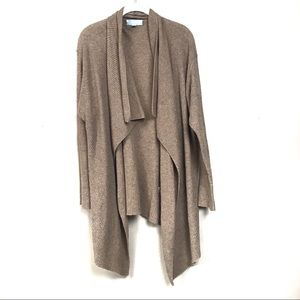 Nordstrom cashmere blend open cardigan sweater